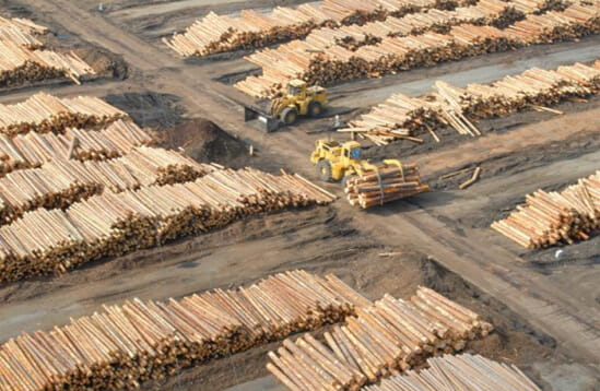Ilim Timber subsidiary in Ust-Ilimsk